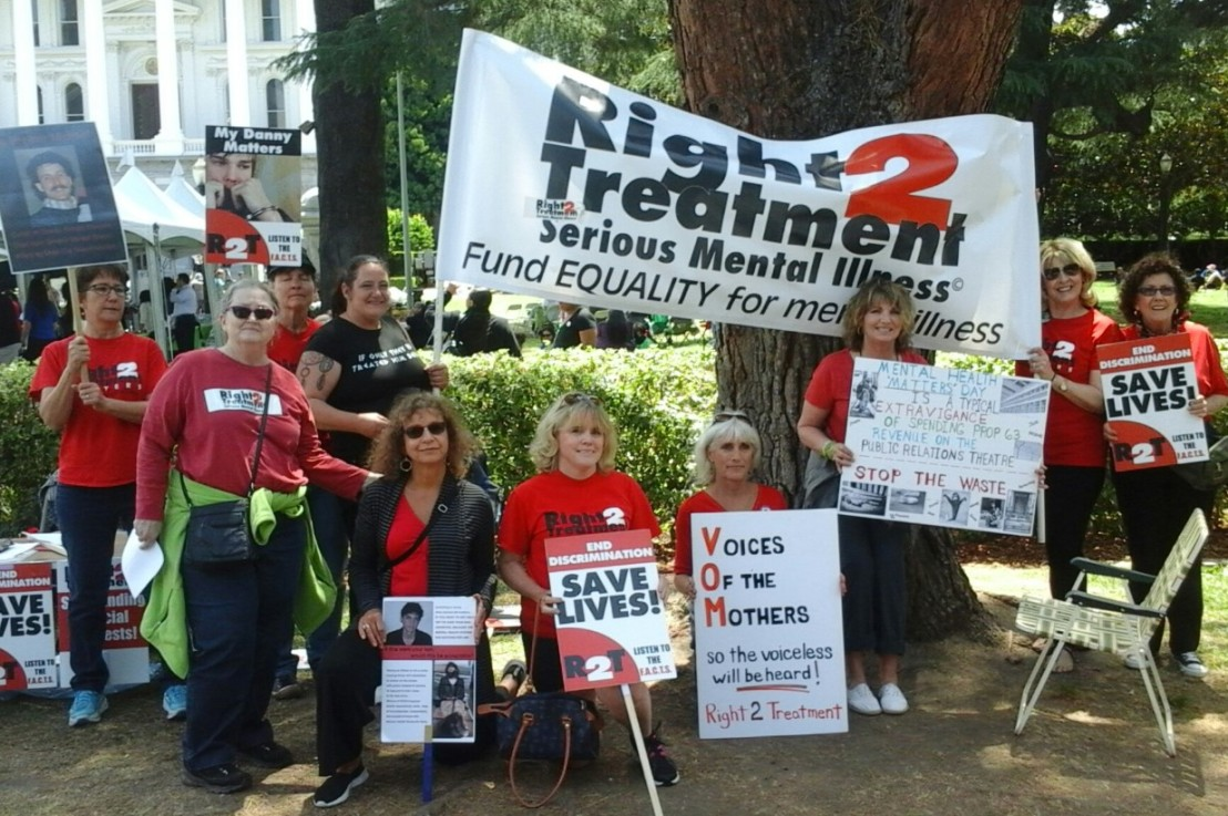 VOM&O AND RIGHT 2 TREATMENT FIGHT  PROP 63 MISUSE